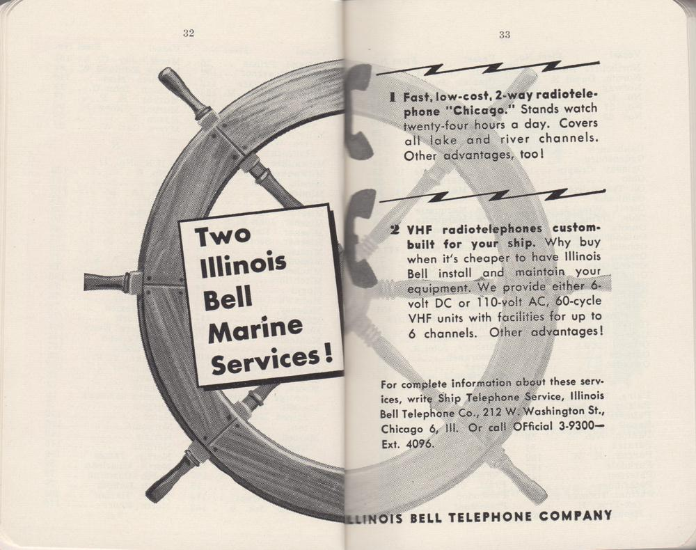 The Great Lakes Red Book, 1955