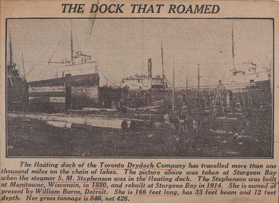 Don Dry Dock has Wandered 1,000 Miles: Schooner Days C. (100)