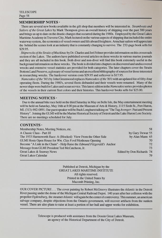 Telescope, v. 40, n. 3 (May - June 1992)