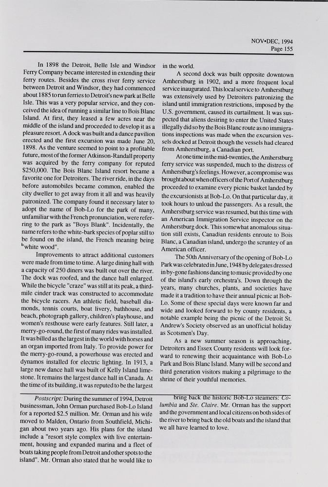 Telescope, v. 42, n. 6 (November-December 1994)