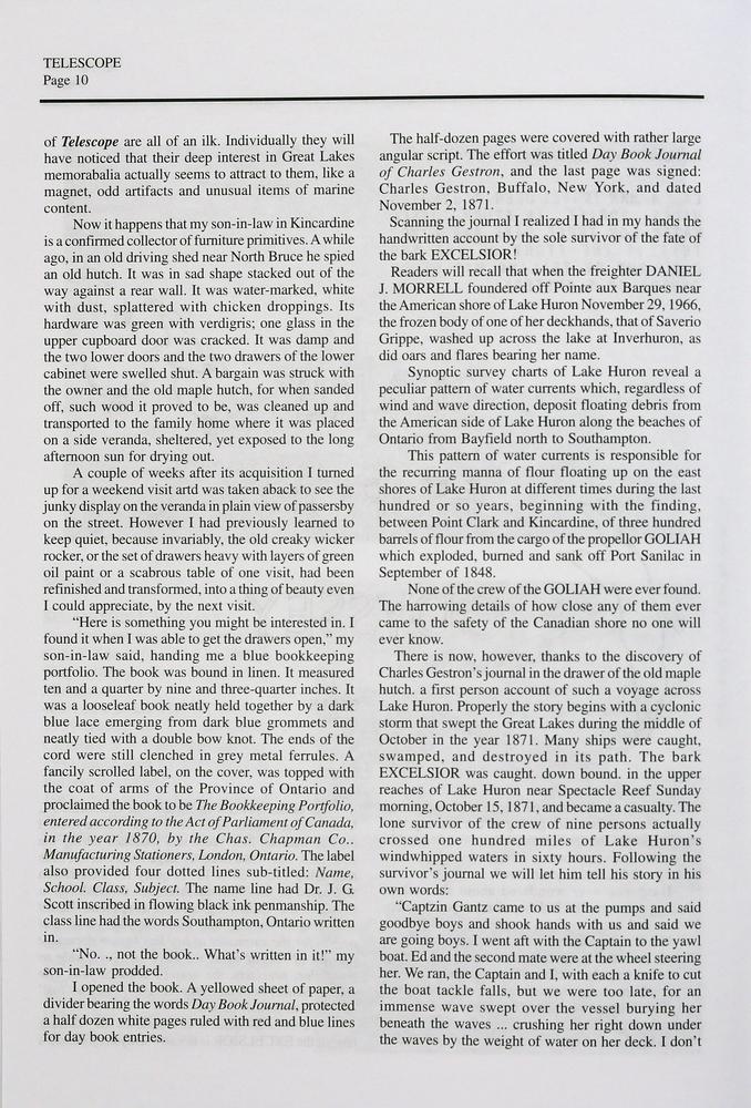 Telescope, v. 55, n.1 (Spring, 2007)