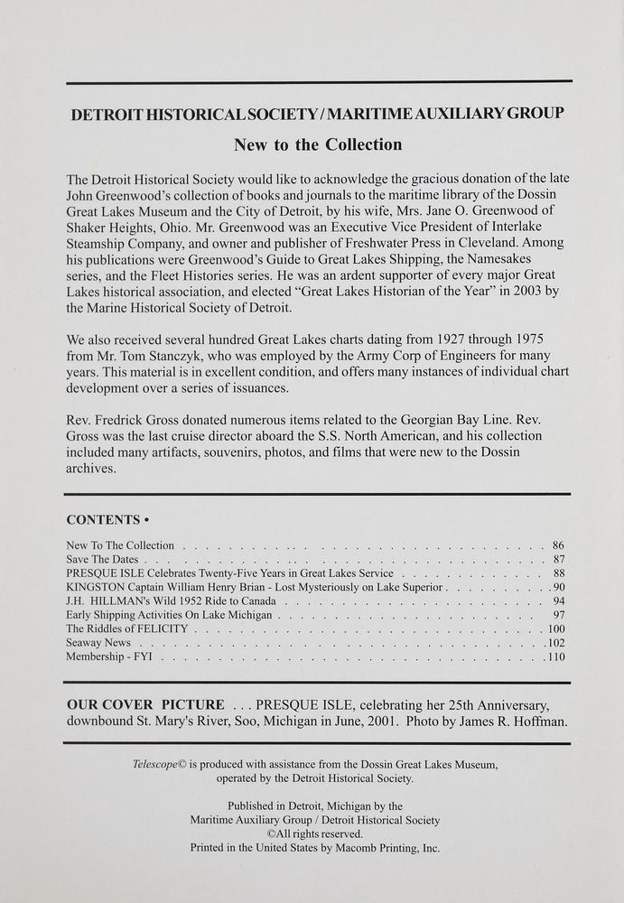 Telescope, v. 55, n.4 (Winter, 2007)