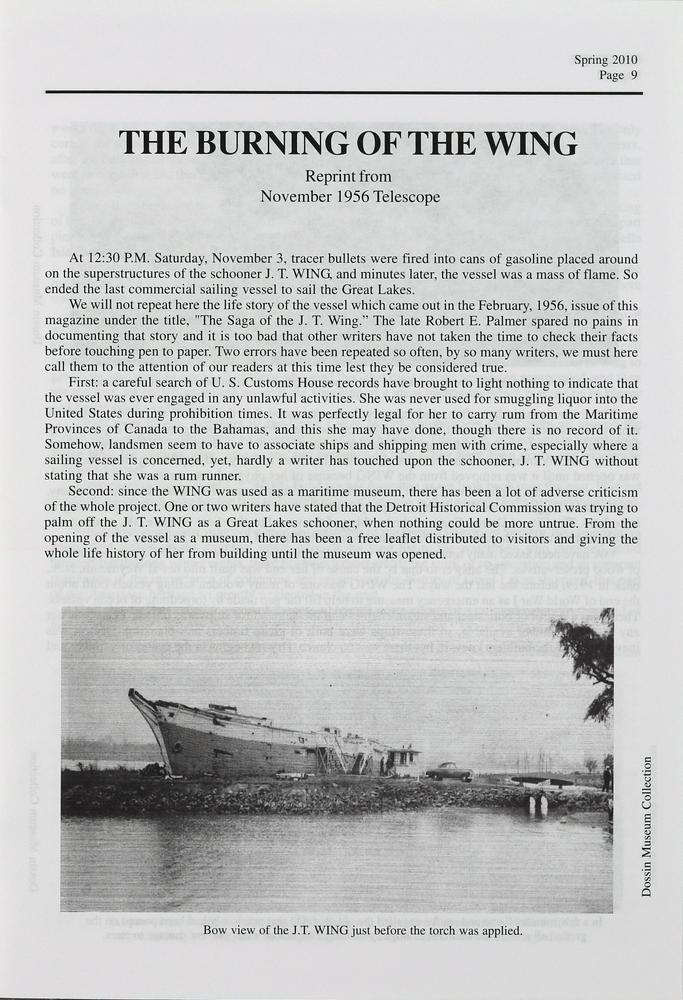Telescope, v. 58, n.1 (Spring 2010)