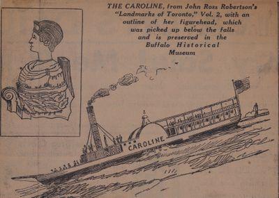 The Caroline's Crash 96 Years Ago Tonight: Schooner Days  [CXIX (119a)]