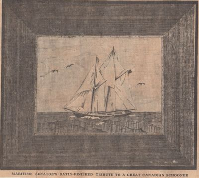 """Painted with Wood and tinted with timber"": Schooner Days CCCCXVI (416)"