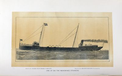 One of Six The Menominee Steamers