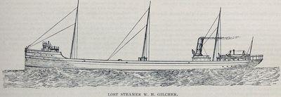 Lost Steamer W. H. Gilcher
