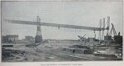 Dock Equipment at Conneaut, Lake Erie