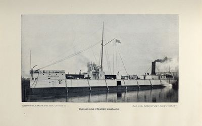 Anchor Line Steamer Mahoning