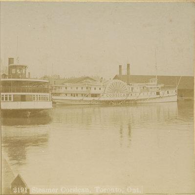 Steamer CORSICAN, Toronto, Ont.