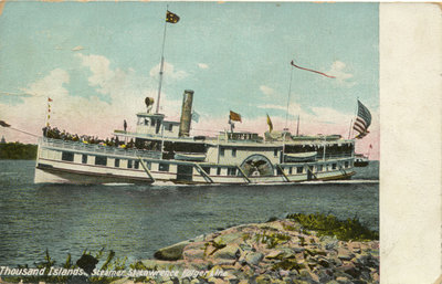 Thousand Island, Steamer St. Lawrence Folger Line