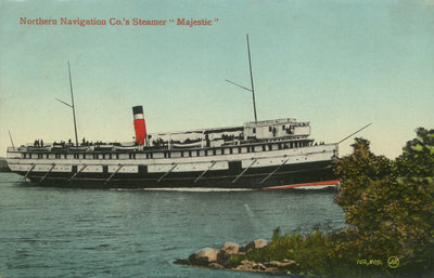 "Northern Navigation Co.'s Steamer ""Majestic"""