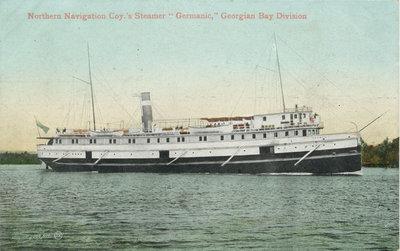 "Northern Navigation Coy.'s Steamer ""Germanic,"" Georgian Bay Division"