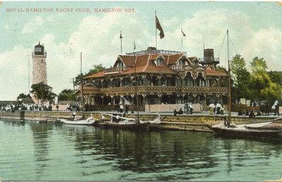 Royal Hamilton Yacht Club, Hamilton Ont.