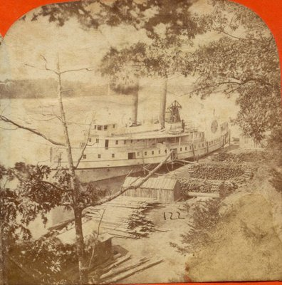 Steamer [New] York at Lewiston