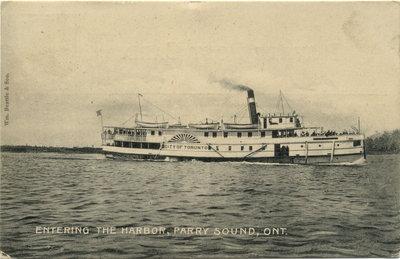 Entering the Harbor, Parry Sound, Ont.