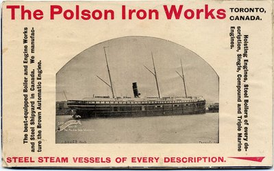 The Polson Iron Works, Toronto, Canada