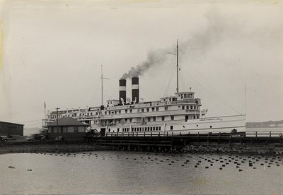 The Canada Steamship Lines steamboat KINGSTON
