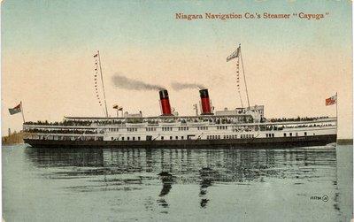 Niagara Navigation Co.'s Steamer Cayuga