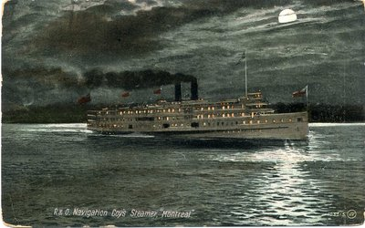 "R. & O. Navigation Coy's Steamer, ""Montreal"""