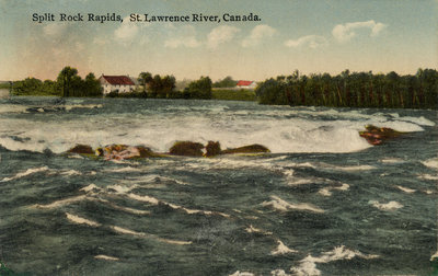 Split Rock Rapids, St. Lawrence River, Canada