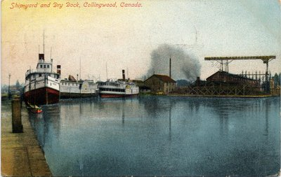 Shipyard and Dry Dock, Collingwood, Canada