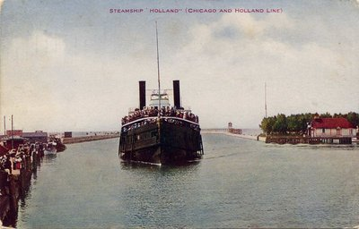 "Steamship ""Holland"" (Chicago and Holland Line)"