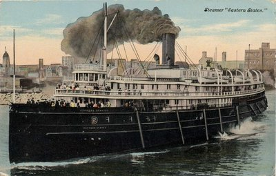 "Steamer ""Eastern States"""