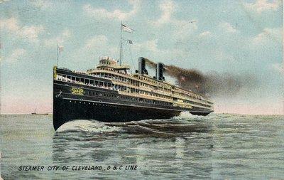 Steamer City of Cleveland, D & C Line
