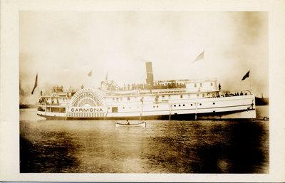 The steamer CARMONA