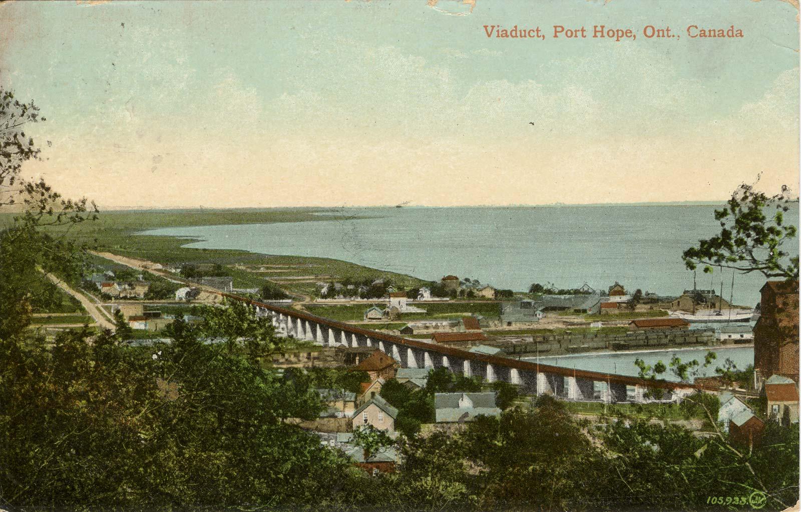 Viaduct, Port Hope, Ont., Canada