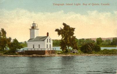 Telegraph Island Light, Bay of Quinte, Canada