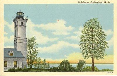 Lighthouse, Ogdensburg, N. Y.
