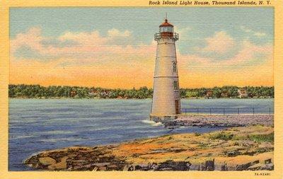 Rock Island Light House, Thousand Islands, N.Y.