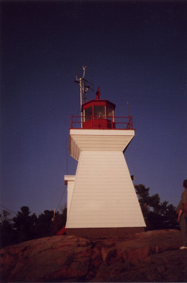 Lighthouse at Killarney, ON