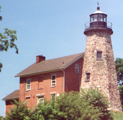 Charlotte lighthouse at Rochester, New York