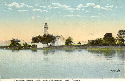 Christian Island Light, near Collingwood, Ont., Canada