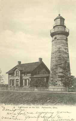 Lighthouse on the Hill, Painesville, Ohio