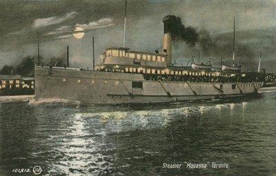 Steamer MACASSA  Toronto