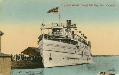 Brigthon Wharf, Presqu'Isle Bay, Ont., Canada
