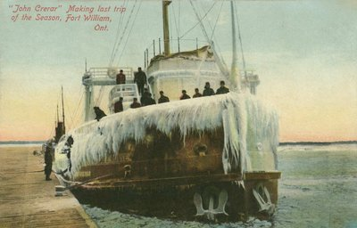 """John Crerar"" Making last trip of the Season, Fort William, Ont."