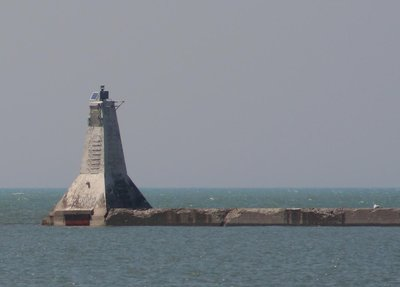 Goderich North Pier light
