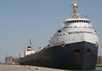 MV ALGOCAPE in the Welland Canal