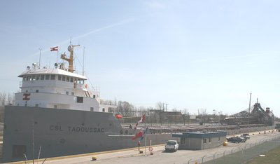 CSL TADOUSSAC in the Welland Canal