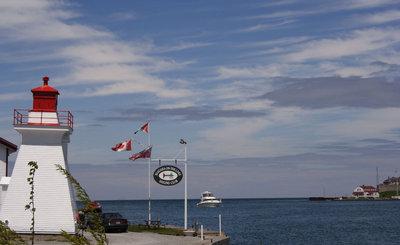 Front range light at Niagara-on-the-Lake
