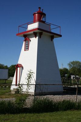 Rear of the Kingsville Lighthouse