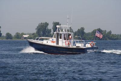 Cape Vincent pilot boat