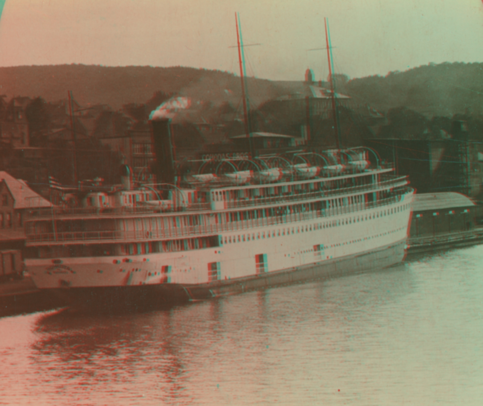 The Tionesta, Typical Great Lakes Steamer, Lake Superior