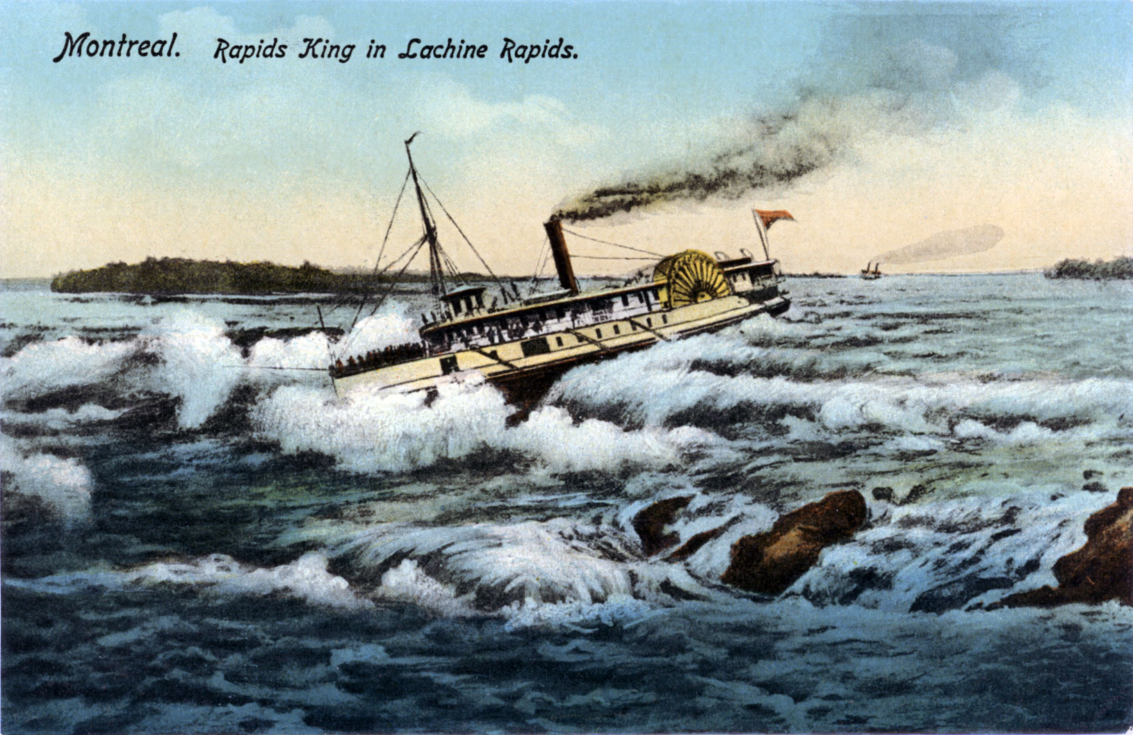 Montreal. RAPIDS KING in Lachine Rapids