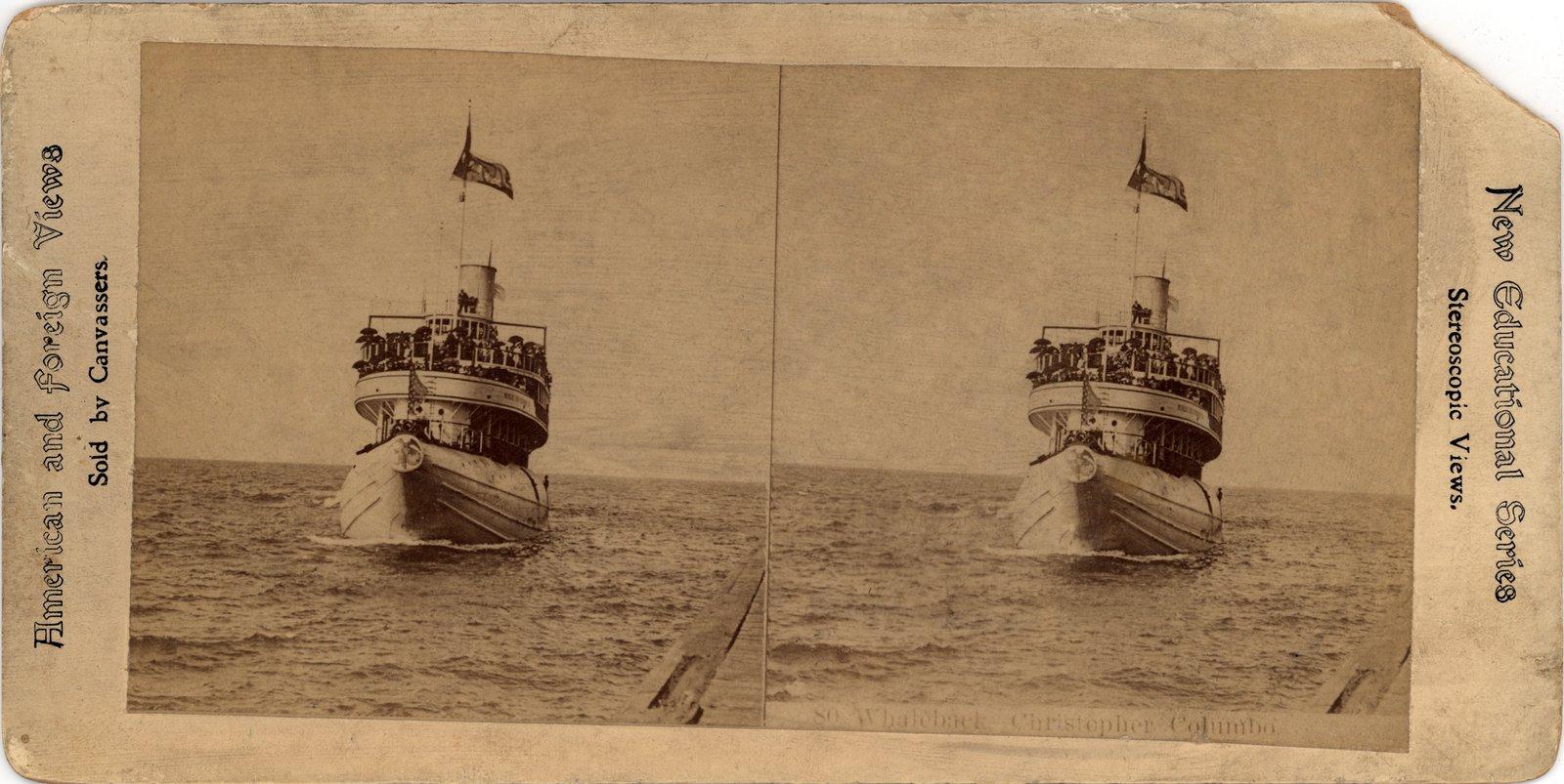 Whaleback Christopher Columbus